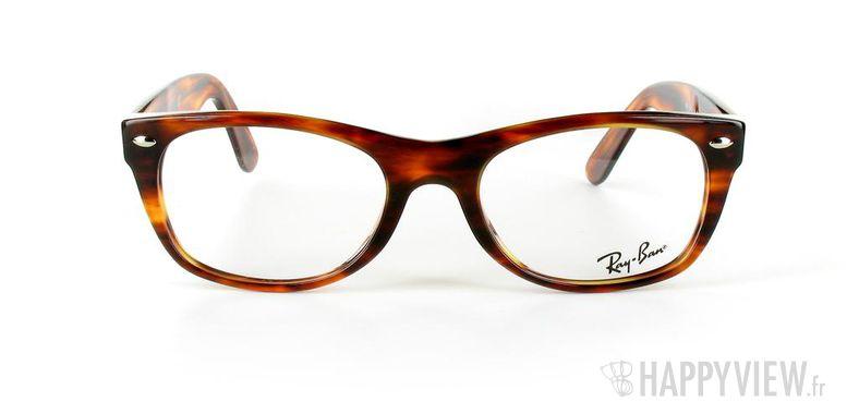 Lunettes de vue Ray-Ban Ray-Ban RX5184 New Wayfarer Small écaille - vue de face