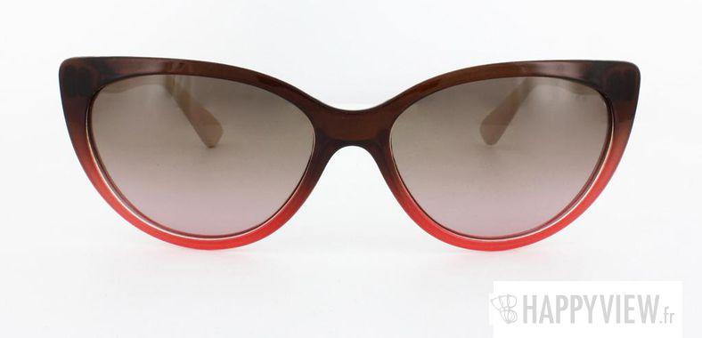 Lunettes de soleil Vogue Vogue 2677S marron/rose - vue de face