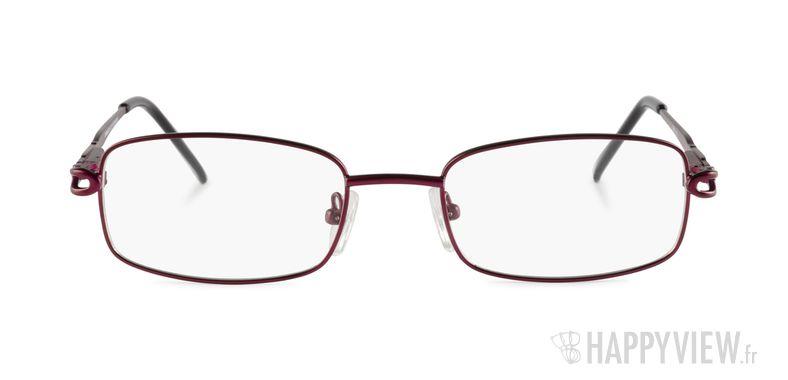 Lunettes de vue Happyview Rodez rouge - vue de face