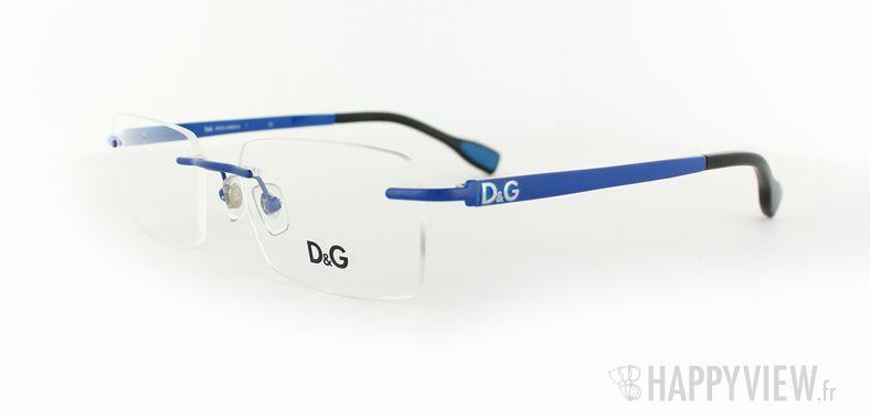 Lunettes de vue Dolce & Gabbana D&G 5106 bleu - vue de 3/4