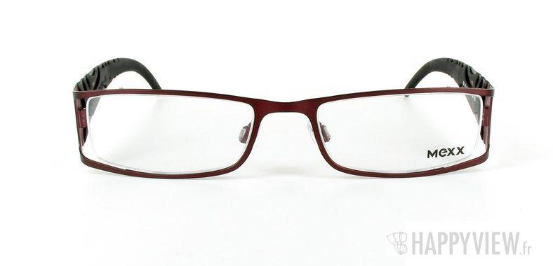 Lunettes de vue Mexx Mexx 5042 rouge/noir - vue de face