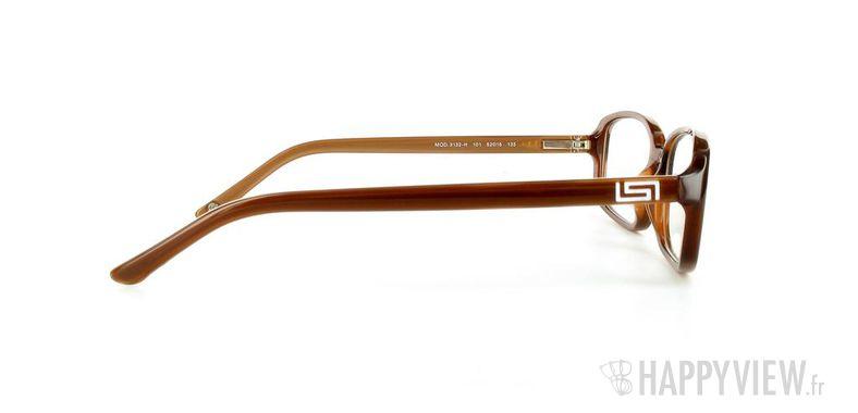 Lunettes de vue Versace VERSACE 3132H marron - vue de côté