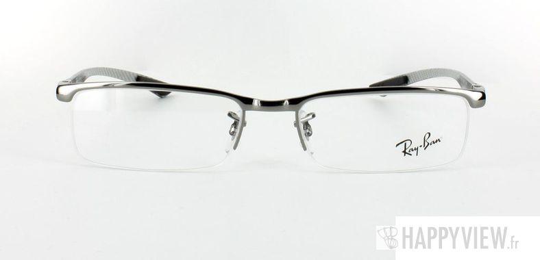 Lunettes de vue Ray-Ban Ray-Ban RX8406 Carbone argenté - vue de face