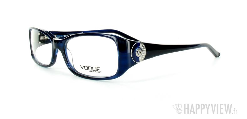 Lunettes de vue Vogue Vogue 2624B bleu - vue de 3/4