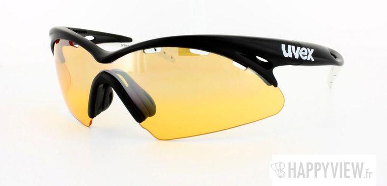 Lunettes de soleil Uvex Uvex Crow Pro noir/blanc - vue de 3/4
