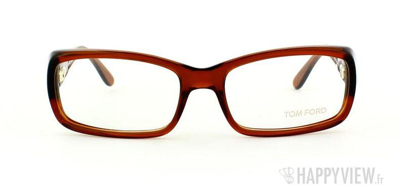 Lunettes de vue Tom Ford Tom Ford 5072 marron - vue de face