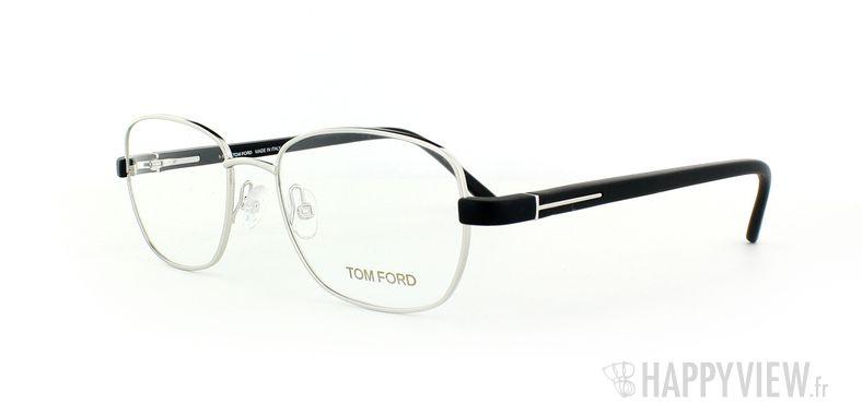 Lunettes de vue Tom Ford Tom Ford 5152 argenté/noir - vue de 3/4