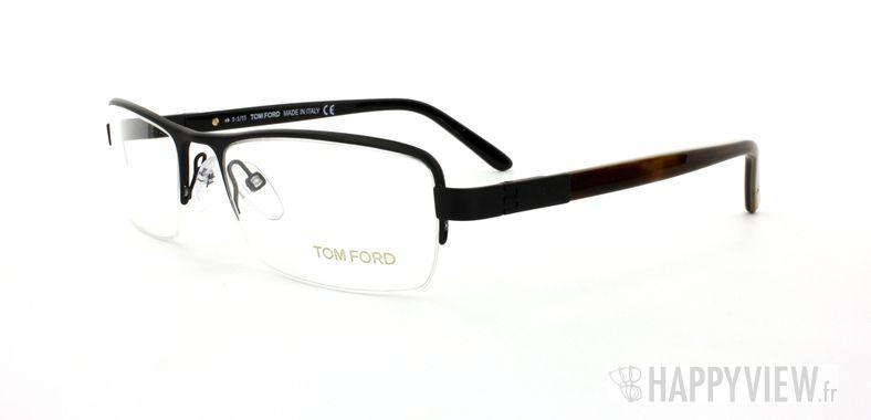 Lunettes de vue Tom Ford Tom Ford 5057 noir/écaille - vue de 3/4