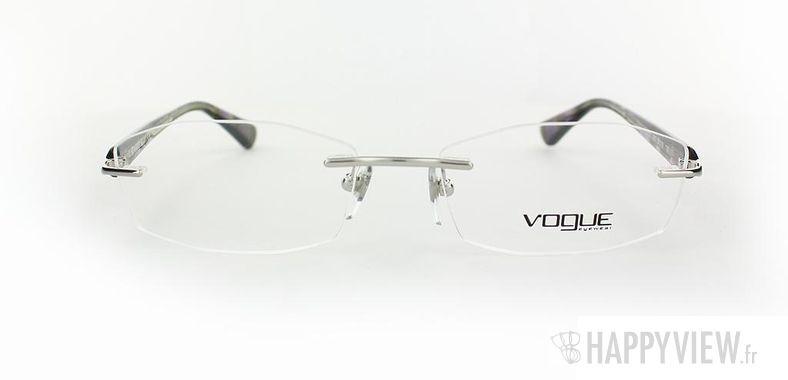 Lunettes de vue Vogue Vogue 3797 bleu/noir - vue de face