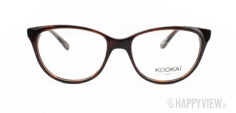 Lunettes de vue Kookaï Kookai 101 marron - vue de face
