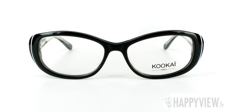 Lunettes de vue Kookaï Kookai 111 noir - vue de face