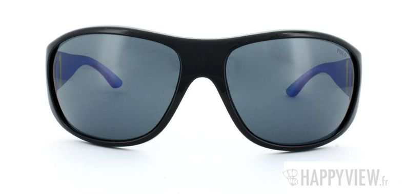 Lunettes de soleil Polo Ralph Lauren Polo Ralph Lauren 4063 noir/bleu - vue de face
