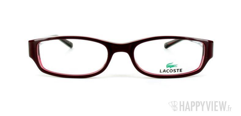 Lunettes de vue Lacoste Lacoste 12231 rouge - vue de face