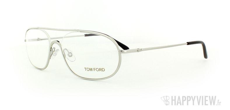Lunettes de vue Tom Ford Tom Ford 5155 argenté - vue de 3/4