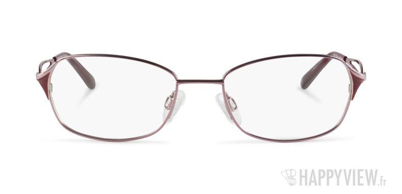 Lunettes de vue Charmant 12087 Titane rose/rouge - vue de face