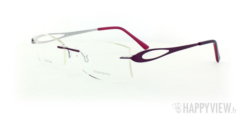 Lunettes de vue Starvision by Seiko Starvision 1003 Titane rose - vue de 3/4