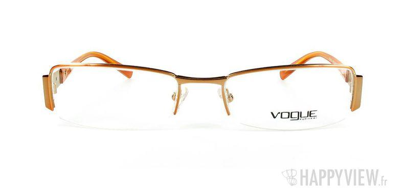 Lunettes de vue Vogue Vogue 3619 orange - vue de face
