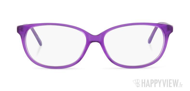 Lunettes de vue Happyview Aubrac violet - vue de face