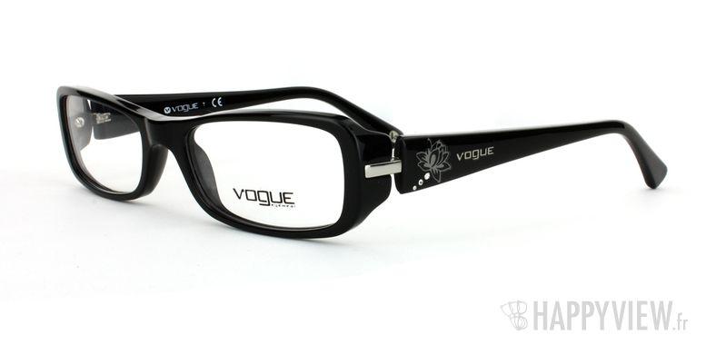 Lunettes de vue Vogue Vogue 2693B noir - vue de 3/4