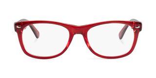 Lunettes de vue Happyview Dinard rouge