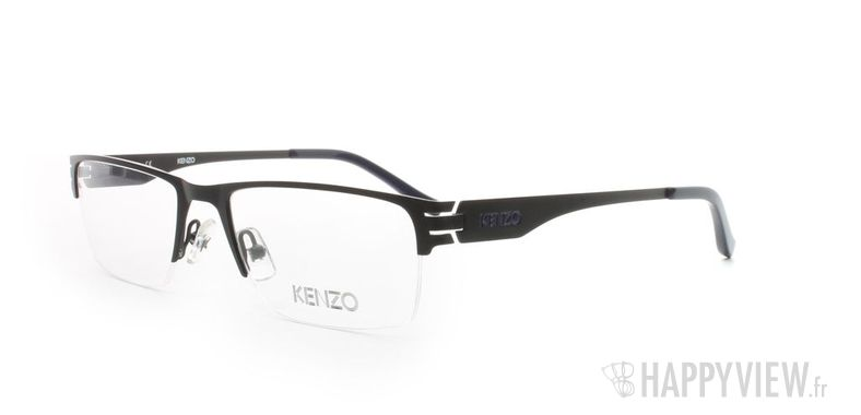 Lunettes de vue Kenzo Kenzo 4158 noir - vue de 3/4