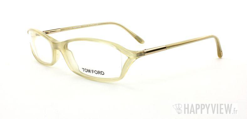 Lunettes de vue Tom Ford 5019 marron - vue de 3/4