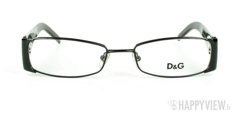 Lunettes de vue Dolce & Gabbana D&G 5049 noir - vue de face
