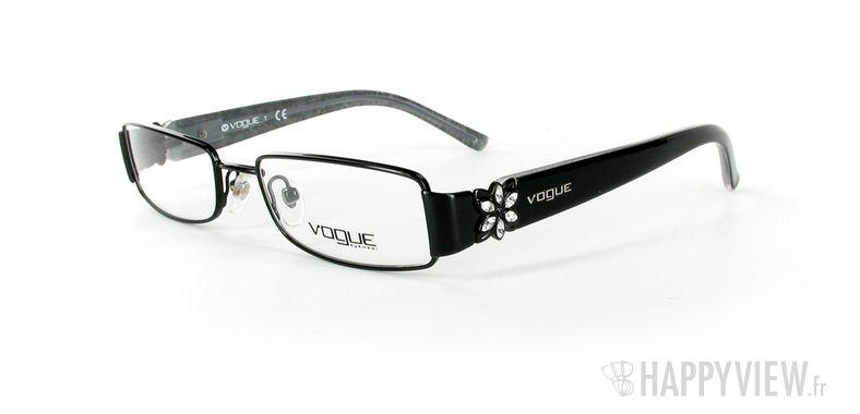 Lunettes de vue Vogue Vogue 3688 noir - vue de 3/4