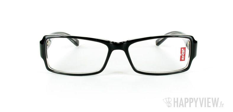 Lunettes de vue Levi's Levi's 2008 noir/gris - vue de face