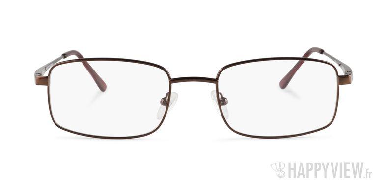 Lunettes de vue Happyview Chaumont marron - vue de face