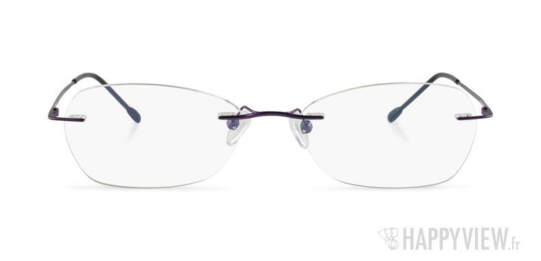 Lunettes de vue Starvision by Seiko 1031 Titane violet - vue de face