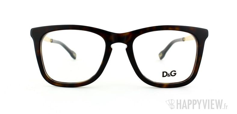 Lunettes de vue Dolce & Gabbana D&G 1231 écaille/doré - vue de face