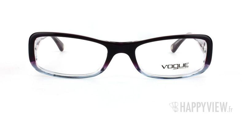 Lunettes de vue Vogue Vogue 2693B bleu/gris - vue de face