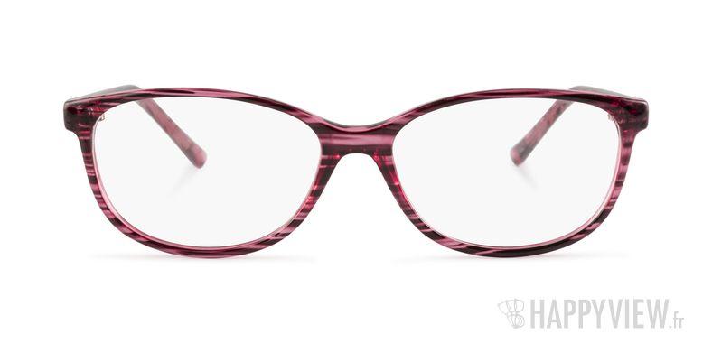 Lunettes de vue Happyview Fréjus rose - vue de face