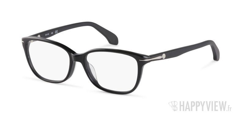 Lunettes de vue Calvin Klein CK 5769 noir - vue de 3/4