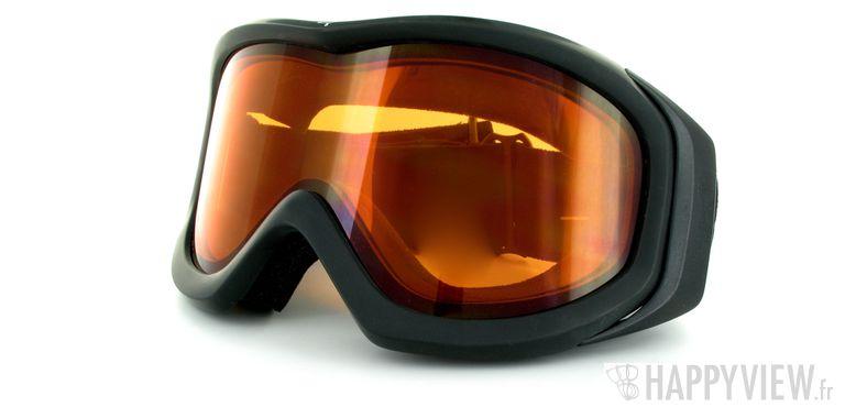 Lunettes de soleil Cébé Cébé Eco (Par dessus vos lunettes) Large noir - vue de 3/4