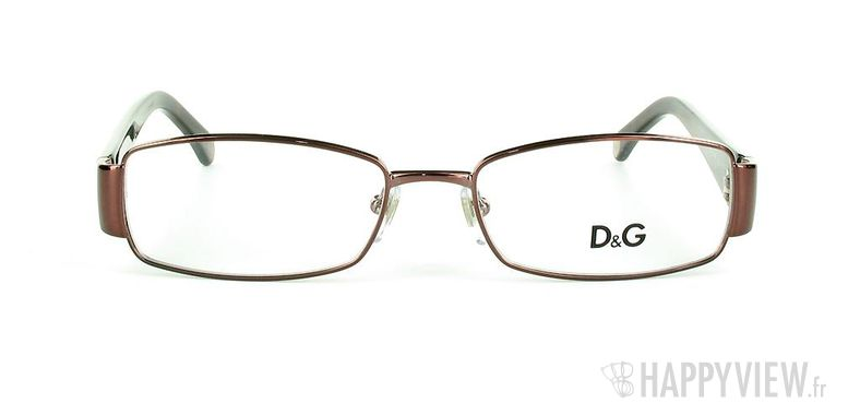Lunettes de vue Dolce & Gabbana D&G 5072 marron - vue de face