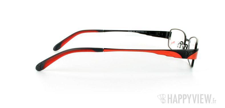 Lunettes de vue Puma Puma 15261 noir/rouge - vue de côté