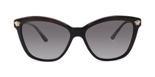 Lunettes de soleil Versace VE 4313 noir/écaille