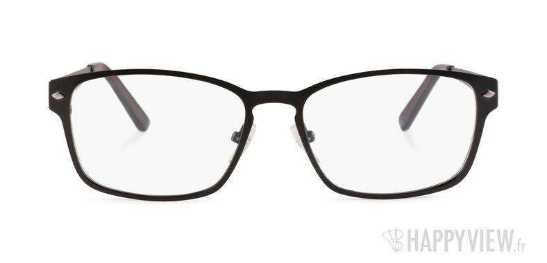 Lunettes de vue Happyview Evian noir - vue de face