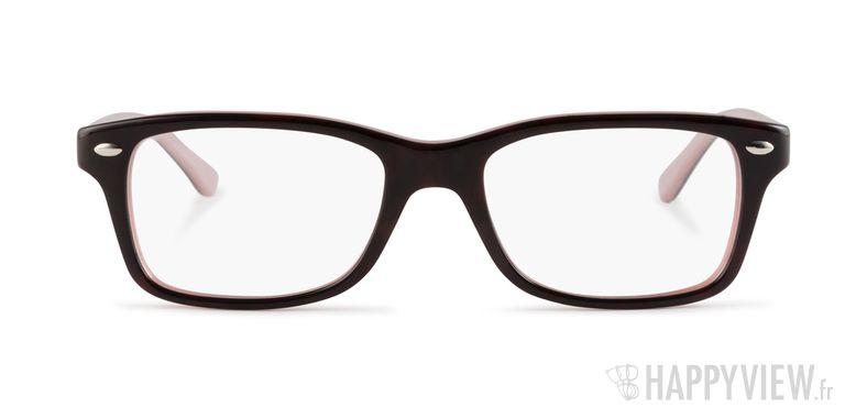 Lunettes de vue Ray-Ban RY 1531 Junior noir/rose - vue de face