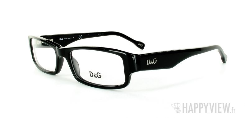 Lunettes de vue Dolce & Gabbana D&G 1168 noir - vue de 3/4