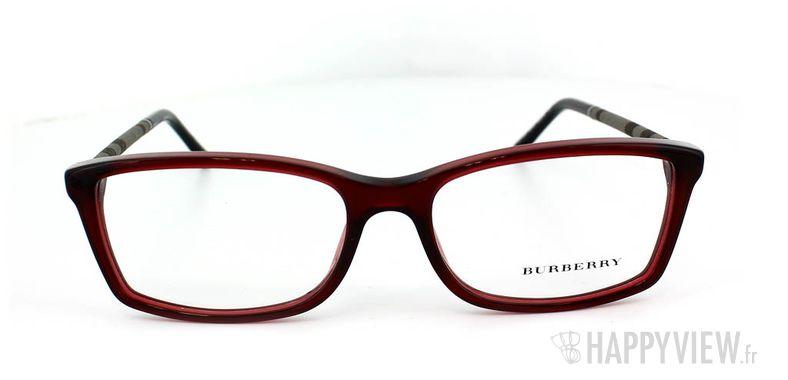 Lunettes de vue Burberry Burberry 2120 rouge - vue de face