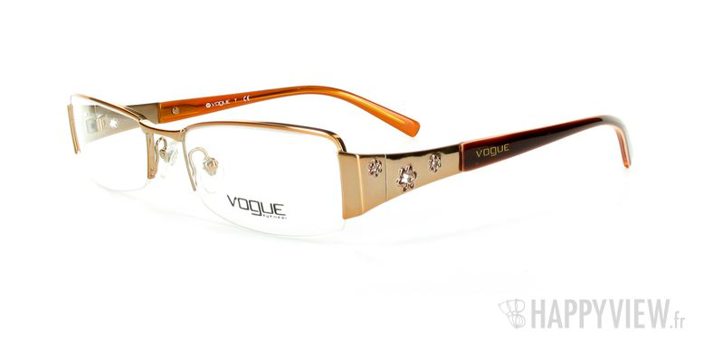 Lunettes de vue Vogue Vogue 3619 orange - vue de 3/4