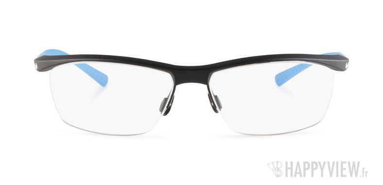 Lunettes de vue Nike 7070 bleu/noir - vue de face