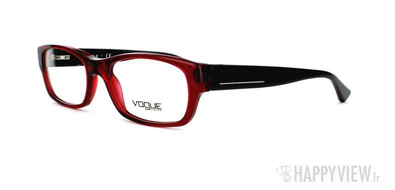 Lunettes de vue Vogue Vogue 2710 rouge - vue de 3/4