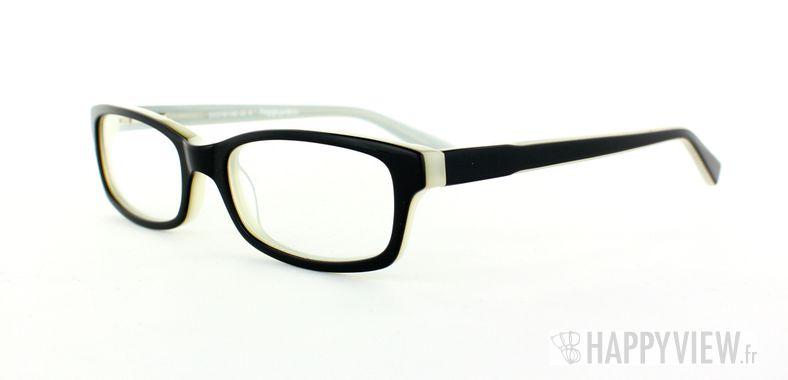 Lunettes de vue Happyview Vannes noir/blanc - vue de 3/4