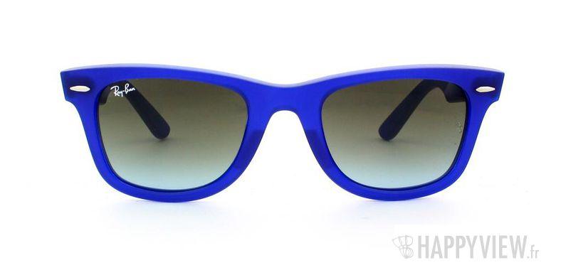 Lunettes de soleil Ray-Ban Ray-Ban Wayfarer bleu - vue de face