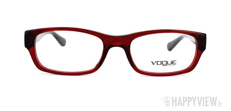 Lunettes de vue Vogue Vogue 2710 rouge - vue de face