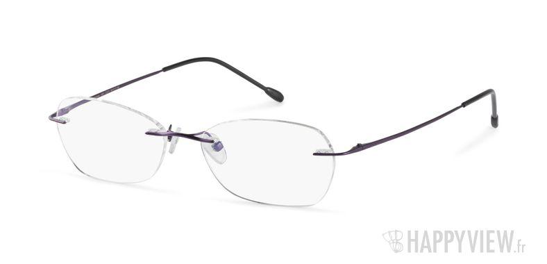 Lunettes de vue Starvision by Seiko 1031 Titane violet - vue de 3/4